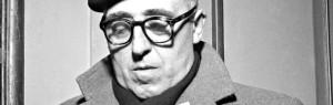 ©Silvio Durante/Lapresse Archivio storico Torino 9-12-1955 Cesare Zavattini nella foto: al Teatro Carignano lo sceneggiatore e regista Cesare Zavattini ha tenuto una conferenza nell'ambito dei Venerdì Letterari NEG- 84536